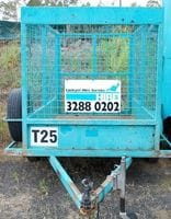 Cage Trailer - 7ft x 5ft