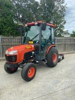 Tractor & 4ft Slasher