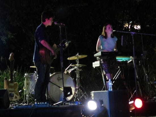 Earth Hour Unplugged gig @ UQ
