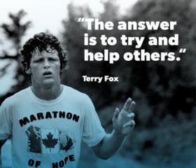 Team Up for the Terry Fox Run