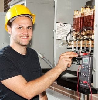 Electrician working in Sydney