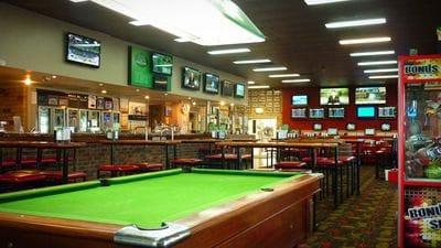 Pool facilities at Shearers Arms Tavern