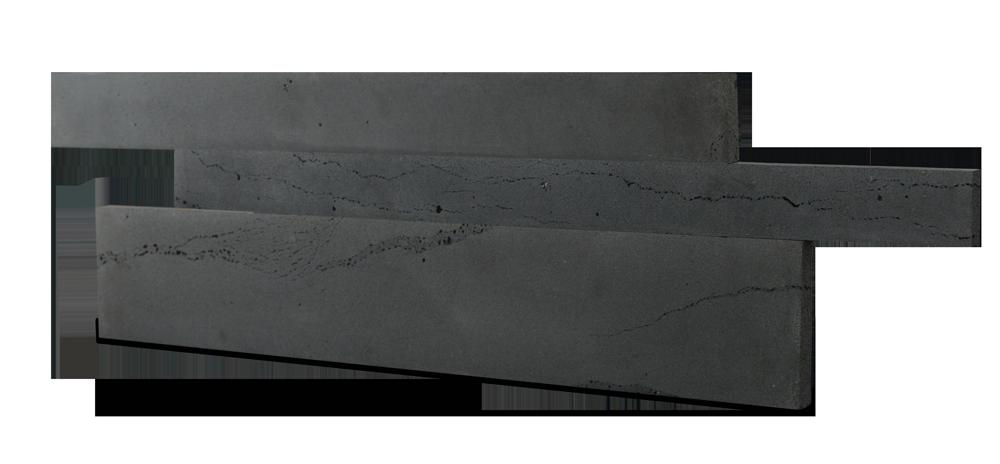 Staxstone - Norstone Natural Stone Veneer - Planc Graphite Lavastone Panels