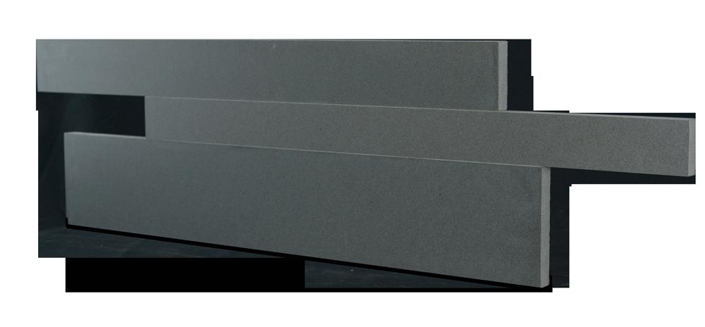 Staxstone - Norstone Natural Stone Veneer - Planc Grey Basalt Panels