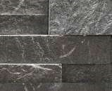 Staxstone - Norstone Natural Stone Veneer - XL Rock Panel Charcoal Sample