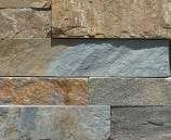 Staxstone - Norstone Natural Stone Veneer - XL Rock Panel Ochre Sample