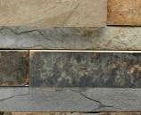 Staxstone Natural Stone Veneer - Rock Panel Ochre Sample