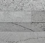 Staxstone - Norstone Natural Stone Veneer - Planc Platinum Lavastone Sample