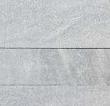Staxstone - Norstone Natural Stone Veneer - Planc Silver Grey Quartz Sample