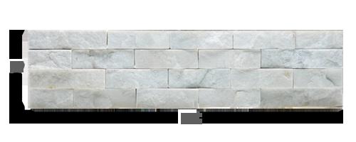 Staxstone Natural Stone Veneer - Rock Panel White Quartz Panel