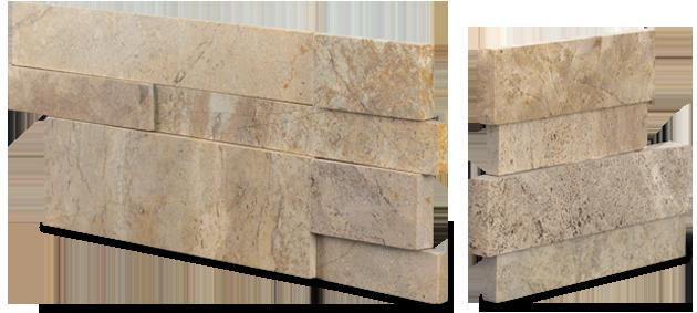 Aksent 3D Beige Marble Corner Unit