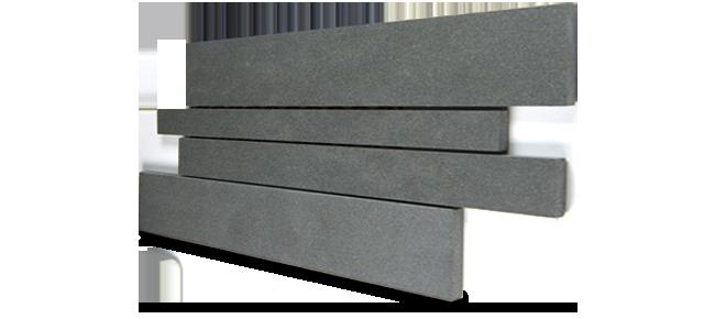Staxstone Natural Stone Veneer - Lynia IL Tile Mosaic Grey Basalt Panel