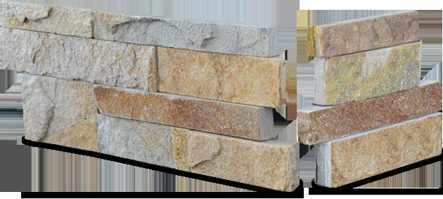 Staxstone - Norstone Natural Stone Veneer - XL Rock Panel Aztec Corner Unit