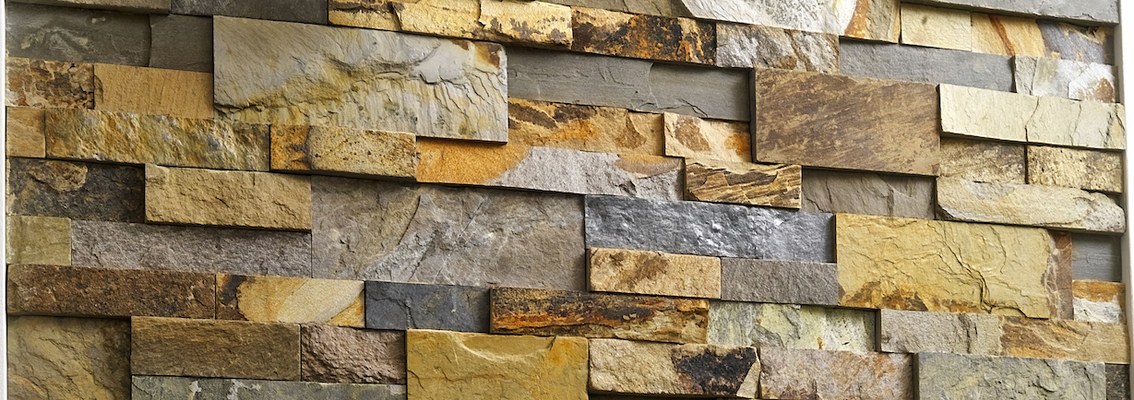 Staxstone - Norstone Natural Stone Veneer - XL Rock Panel Installation Image