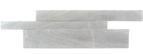 Staxstone - Norstone Natural Stone Veneer - Planc Silver Grey Quartz Panels
