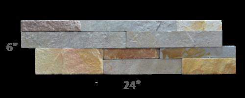 Staxstone - Norstone Natural Stone Veneer - XL Rock Panel Aztec Panel