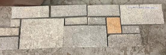 Wallmats Mixed Dark Granite