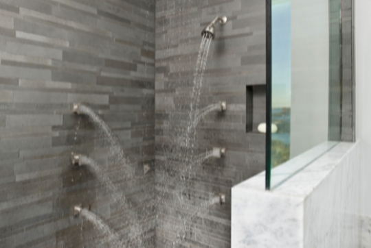 Staxstone Natural Stone Veneer - Gallery Showers