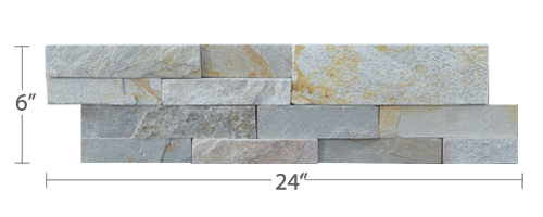 Staxstone - Norstone Natural Stone Veneer - XL Rock Panel Sierra Panel
