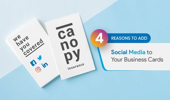 4 Reasons To Add Social Media To Your Business Cards