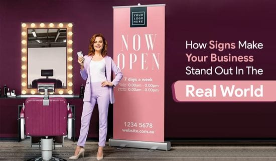 How Signs Make Your Business Stand Out