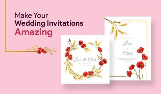 5 Simple Ways to Make Your Wedding Invitations Amazing