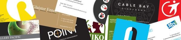 Business cards require quality printing