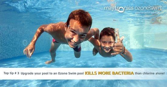 OZONE DESTROYS 99.9% BACTERIA & VIRUSES