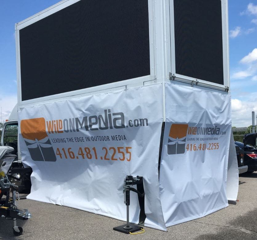 Signage | Large Format Signage | Media Truck | Graphics Production Group