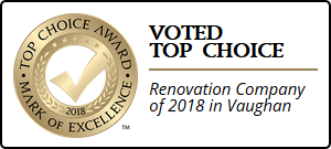 TriMatrix Construction is the winner of the Top Renovation Company of 2018 in Vaughan.