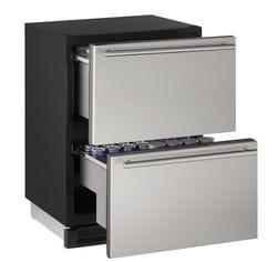 "Refrigerator Drawers 24"" Stainless 115v"