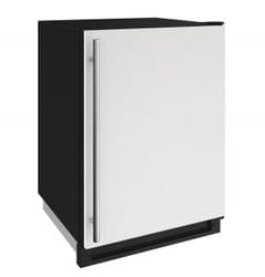 "Freezer 24"" Reversible Hinge White 115v"