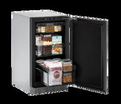 """Solid Refrigerator  18"""" Reversible Hinge Integrated 115v"""