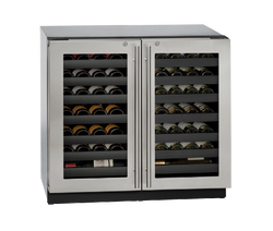 "Wine Captain 36"" Lock Stainless 115v"