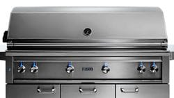 """54"""" Freestanding Grill - 1 Trident  w/ Rotisserie NG"""