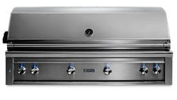 """54"""" Built-In Grill - 1 Trident  w/ Rotisserie NG"""