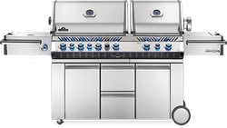 Napoleon Prestige PRO 825 with Power Side Burner and Infrared Rear & Bottom Burners