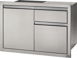 "Napoleon 36"" X 24"" Single Door & Waste Bin Drawer"