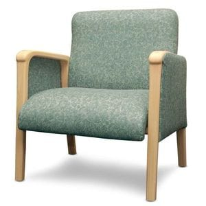 Kwalu Fully Upholstered Bariatric Lounge Chair