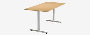 SPE Rectangular Tubular T-Base Table