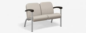 SPE Companion-4202M Two Seater w Wood Arms