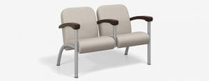 SPE Companion-4212M Two Seater w Wood Arms