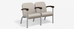 SPE Companion-4222M Two Seater w Wood Arms