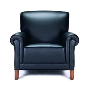 HCF Traditional Davenport Lounge Chair 486P -30
