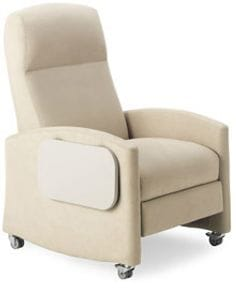 CAR Treatment Chair 1707 C (with casters)