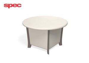 SPE Dignity Mental Health Round Freestanding Tables