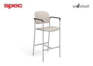 SPE Snowball I -1871 Four Point Stool