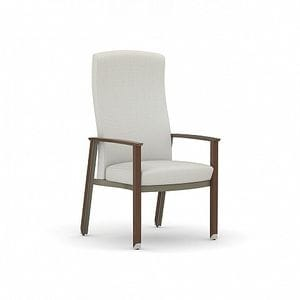 HCF Silver Ion Wood Resident Guest Chair -05