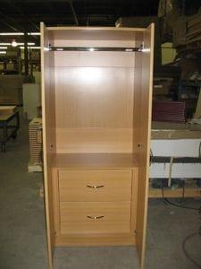 Spartan 2 Door wardrobe with 2 Inset Drawers -40