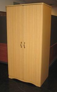 Retro 2 Door Wardrobe (Scalloped Kick) -40 (2)